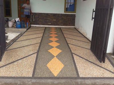 Batu Sikat Balian Krem Untuk Lantai Carport Jual Batu Alam Terlengkap Dijakarta