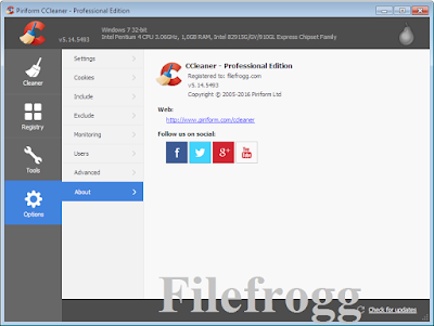 CCleaner All Edition Full Crack