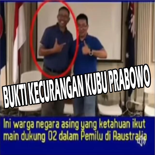 Ini Dia Bukti Kecurangan Kubu Prabowo