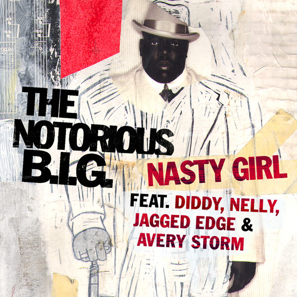 The Notorious B.I.G. - Nasty Girl - EP Cover