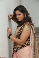 Shilpa Chakravarthy in Lovely Designer Pink Saree with Cat Print Pallu 015.JPG