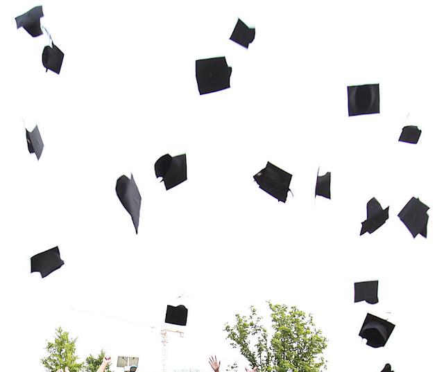 Vida de Universitário - colação de grau