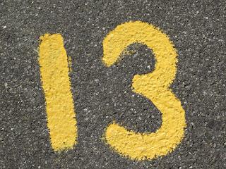 angka 13 sial atau hoki?