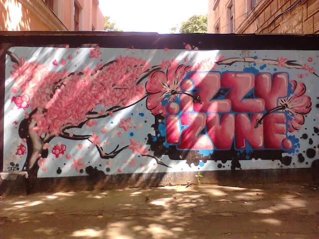 Граффити Izzy Izvne