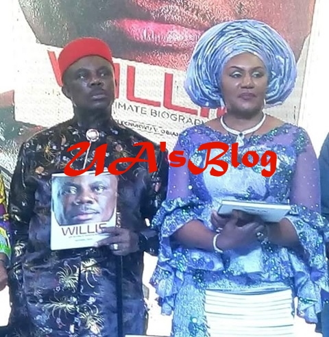 Anambra Governor, Obiano Seen Kissing His Wife Publicly At An Event (Photos)