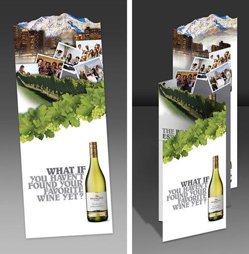 In nhanh Brochure đẹp tại xưởng Hà Nội, thiết kế Brochure độc đáo chuyên nghiệp WINE