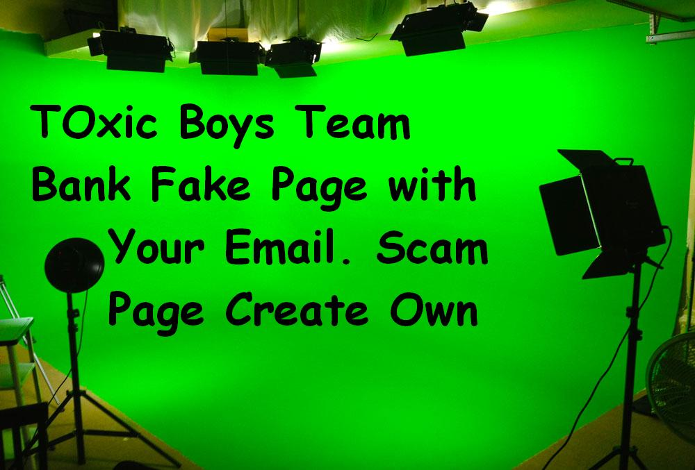How to Create any Online Payment Scam Page and Bank Page Scama