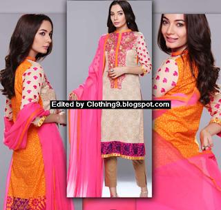 Luxury Lawn Eid ul Adha Dress Collection