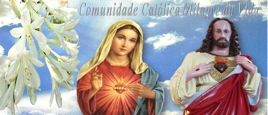 Comunidade Católica Milagre Da Vida Capas E Gifs Usadas: Comunidade Católica Milagre Da Vida: IMAGENS E GIFS DO