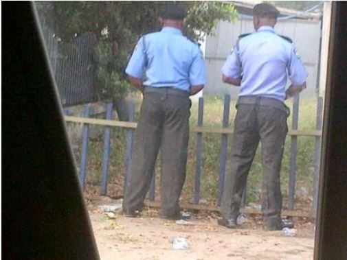 So Hilarious: Seven Photos Nigerian Police Would Want Removed from the Internet