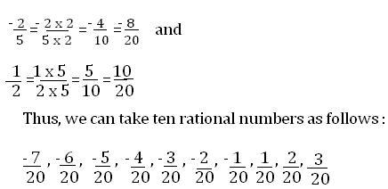 CBSE NCERT Class 8 Mathematics | Chapter 1, Rational Numbers