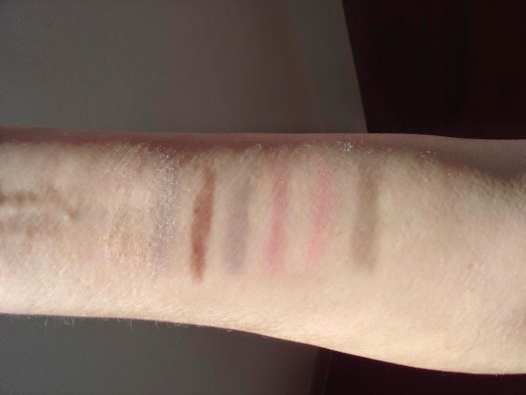 Josie Maran Cosmetics Argan Eye Love You Eye Shadow Palette swatches.jpeg