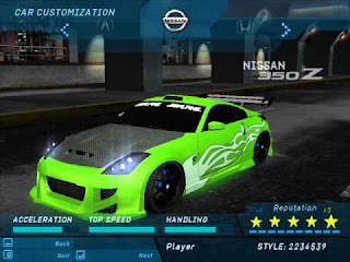 Need For Speed Underground 1 PC Game
