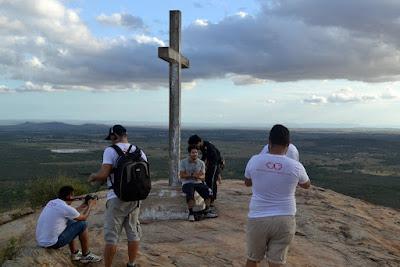 Rota Inter TV grava programa em Serra Caiada