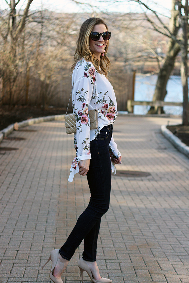 Floral top #floraltop #springfashion