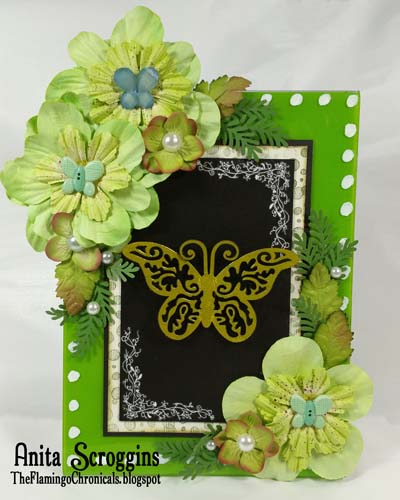 Spring Butterfy Acryllic Craft Frame