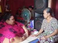 Titi Wati -  Wanita Tergemuk di Provinsi Kalimantan Tengah