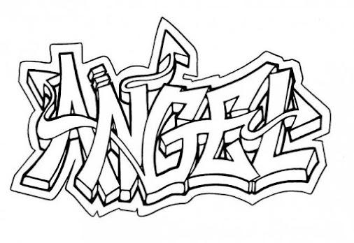 Fantastisch Graffiti Word Malvorlagen Zeitgenössisch - Beispiel ...