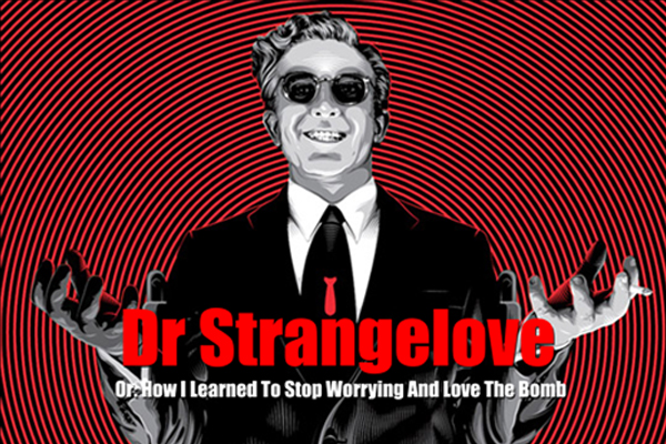 Dr. Strangelove (1964), CINE ΣΕΡΡΕΣ, Peter Sellers, George C. Scott, Sterling Hayden, Stanley Kubrick,