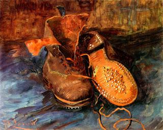 Van Gogh Peasant Shoes Heidegger
