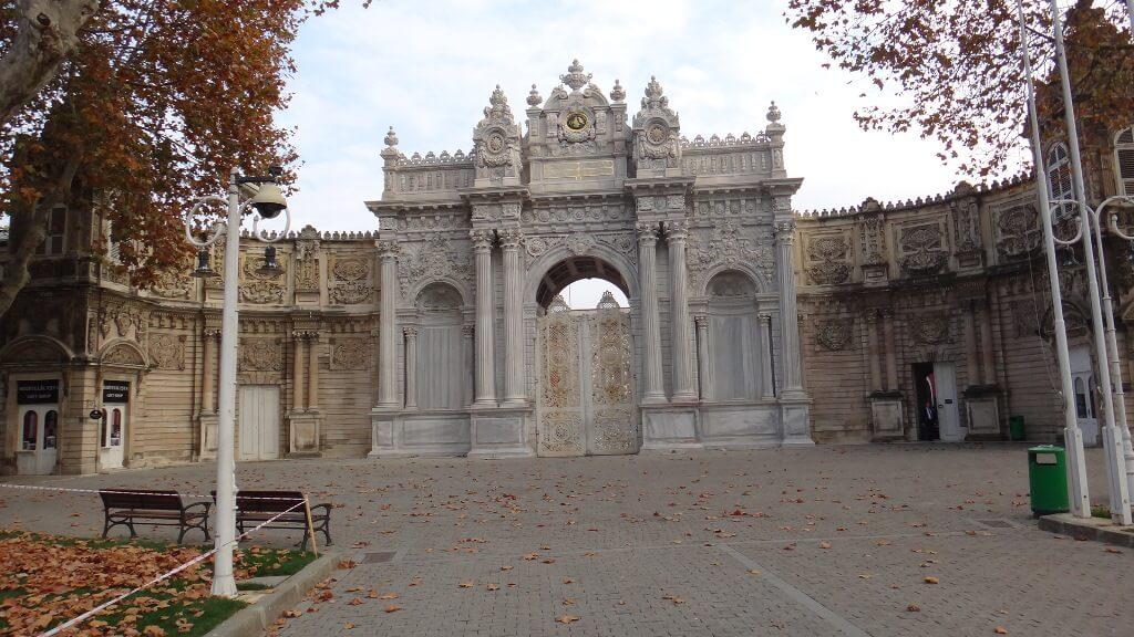 Palácio Dolmabahçe na Turquia