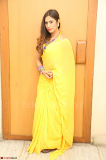 Nishigandha in Yellow backless Strapless Choli and Half Saree Spicy Pics 169.JPG