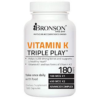 Vitamin K Triple Play 550mcg