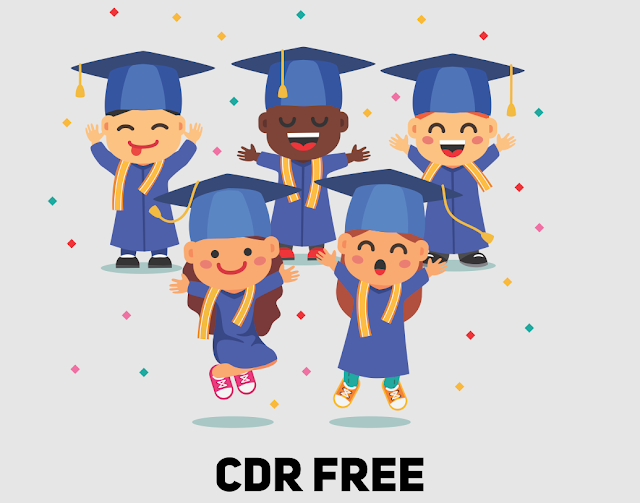 Download Kartun anak sekolah CDR