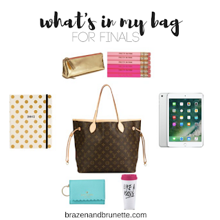 what to bring to your finals | brazenandbrunette.com