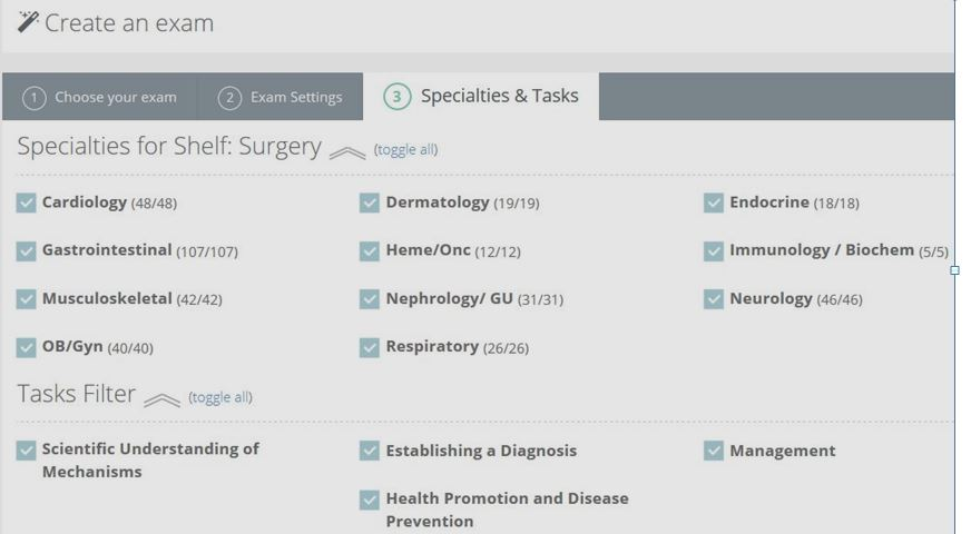 Skeptical Scalpel: Review: Online question bank for med students and