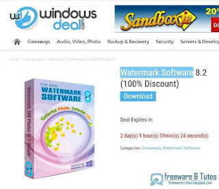 Watermark Software 8.2 giveaway