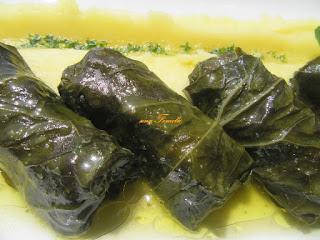 My green rolls