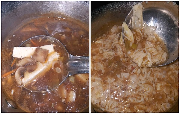 Steps to make restaurant style Hot and sour soup
