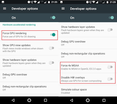 Increase Android Performance