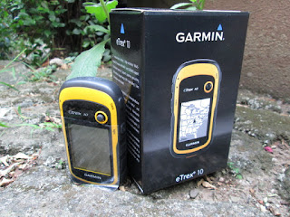 GPS Garmin eTrex 10 Baru High Sensitive IPX7 Waterresistant