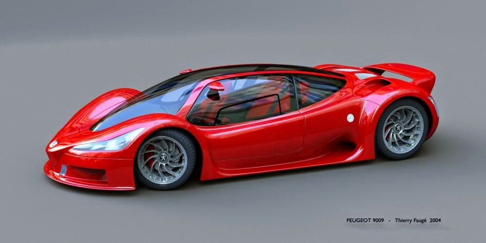 Foto Mobil D8 red sport car photo