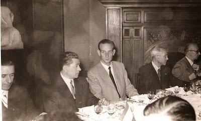 Comida de despedida del Match Internacional de Ajedrez Interclubs 1951 - Otros participantes