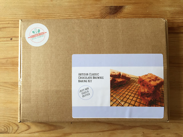 Brownie baking subscription kit from If I Knew You Were Coming