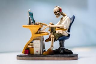 Blogar até morrer