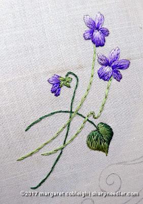 Society Silk Violets: