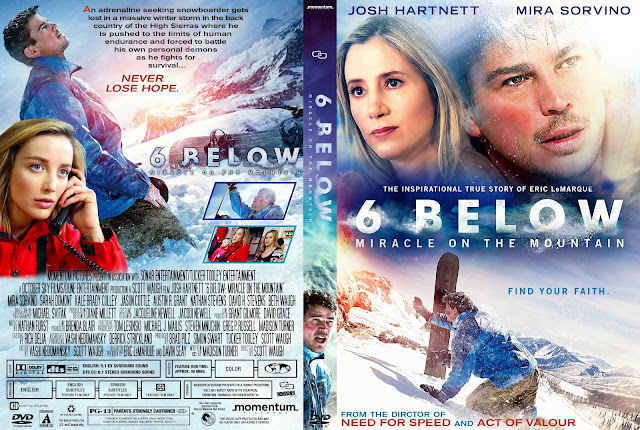 6 Below: Miracle on the Mountain DVD Cover