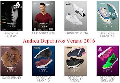 Andrea Deportivos Verano 2016