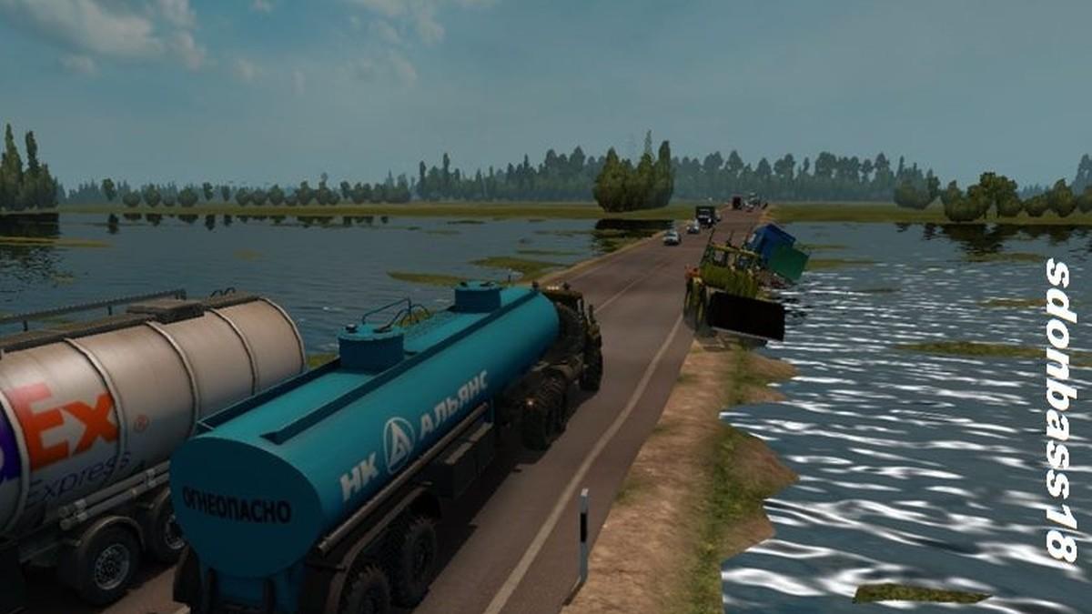 Map Severe Russia Less Traffic v 1.0