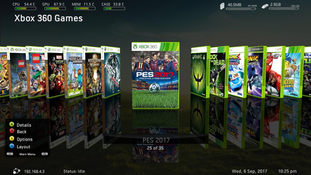 Menampilkan Game List XBOX 360 Pada Freestyle Dashboard | Buku
