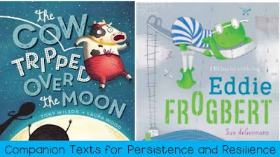 "We go together - ""The Cow Tripped Over the Moon"" and ""Eddie Frogbert"""