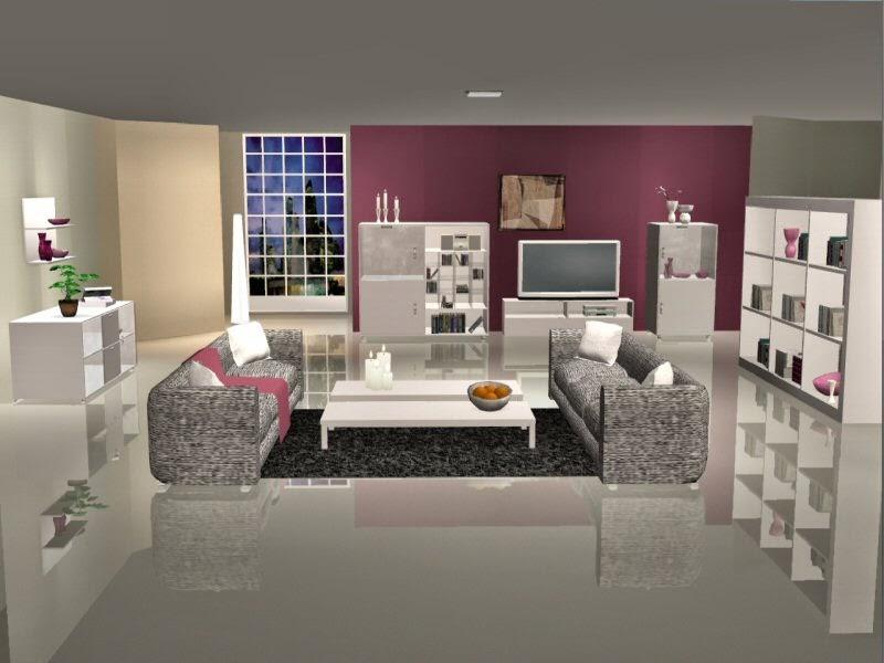 SIMplified: Sims 2 Miami Series - Wohnzimmer