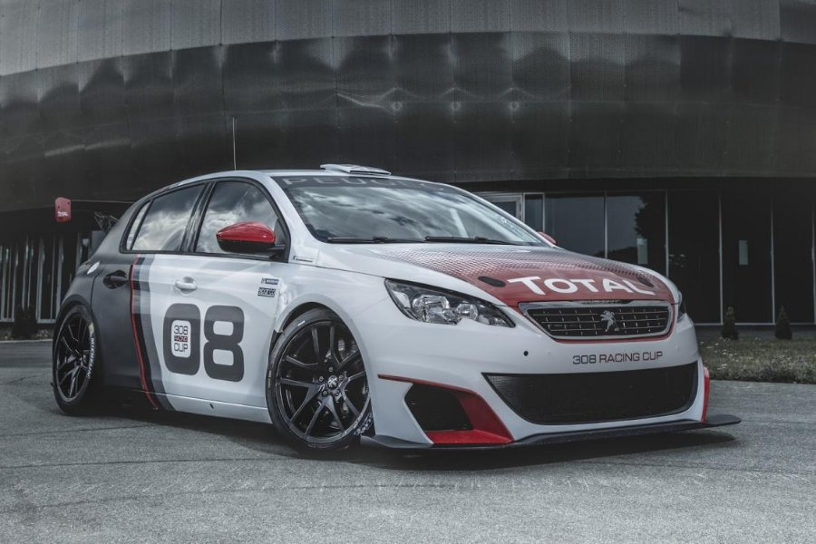 peugeot sport creates the 308 racing cup - autoesque