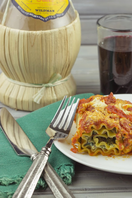Spinach Lasagna Roll-ups   Cooking on the Front Burner #lasagna