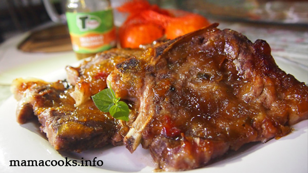 baked spareribs recipe