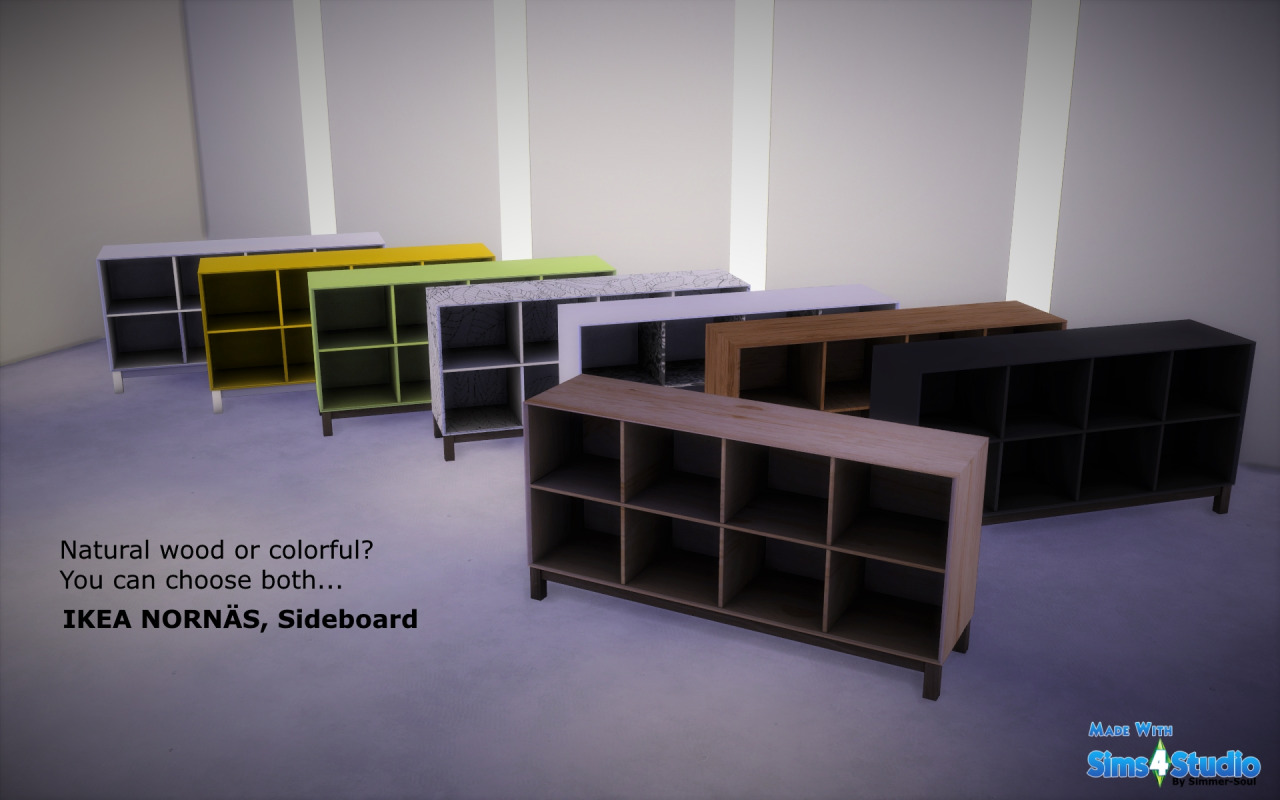 My sims 4 blog ikea norn s sideboard by simmersoul for Sideboard tess 05
